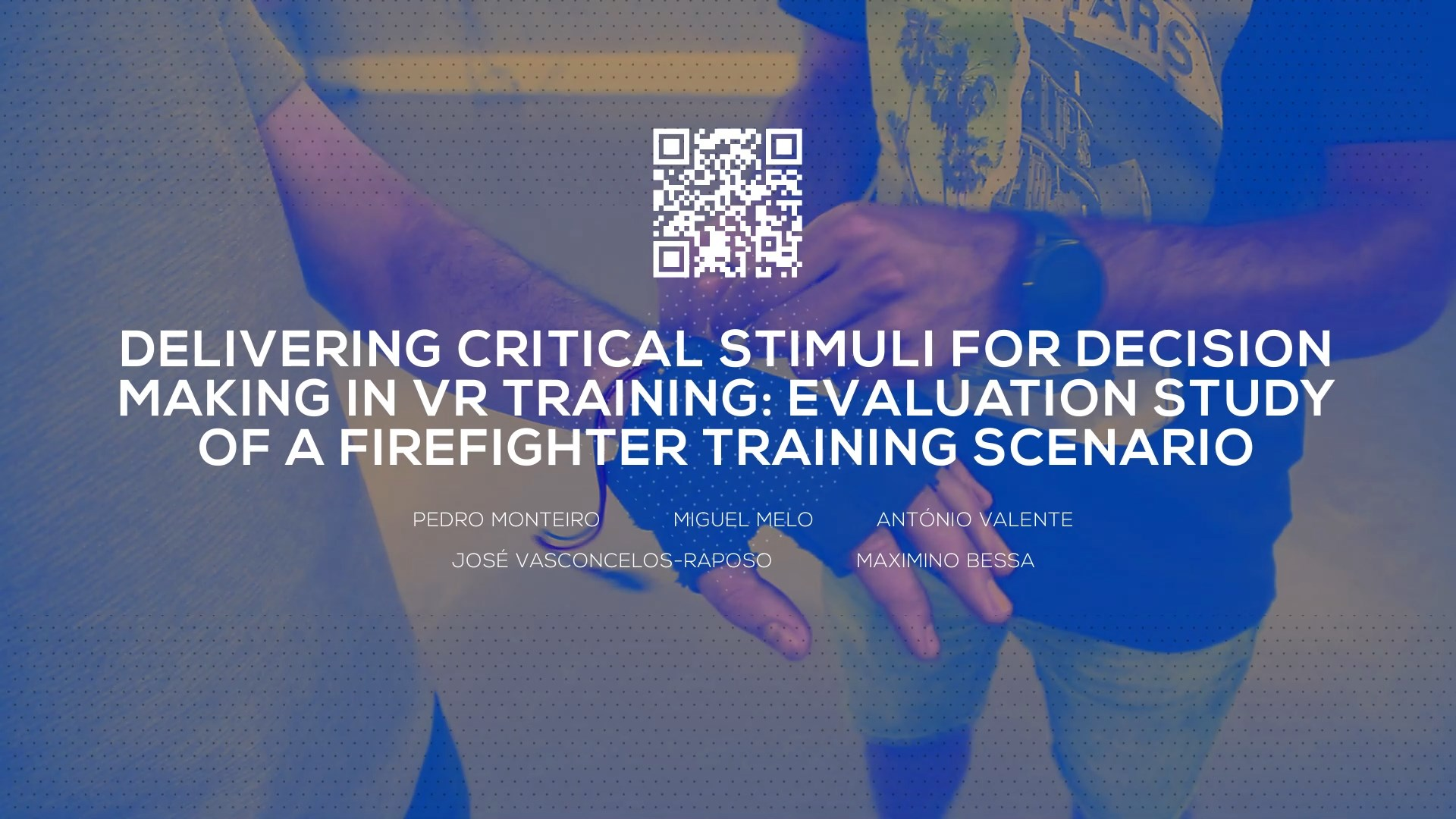 Delivering Critical Stimuli for Decision Making in VR Training